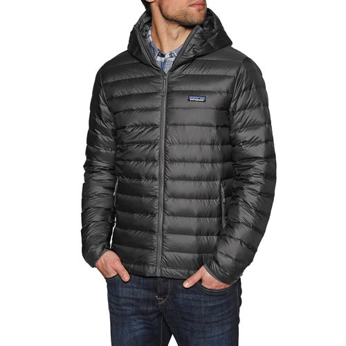 Patagonia Sweater Hooded Down Jacket Available From Surfdome
