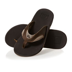 fc7240127482 Reef. Reef Leather Fanning Sandals ...