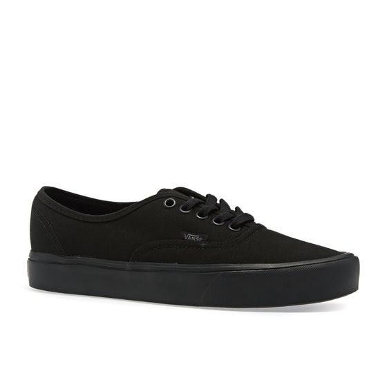cce74db3b08 Vans. Vans Authentic Lite Shoes - Canvas Black Black