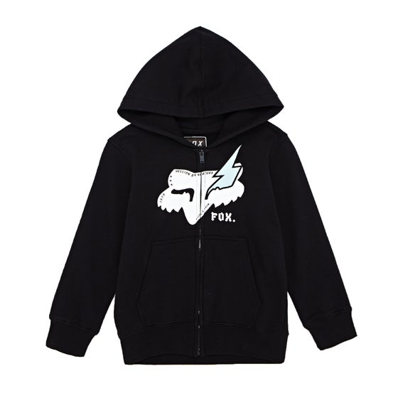 28139c7b12da1c Fox Racing. Fox Racing Youth Hellion Fleece Boys Zip Hoody ...