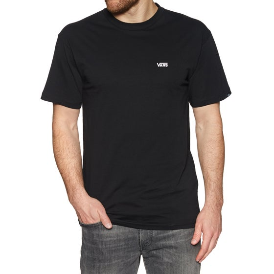 f31457478f Vans Left Chest Logo Short Sleeve T-Shirt - Black White