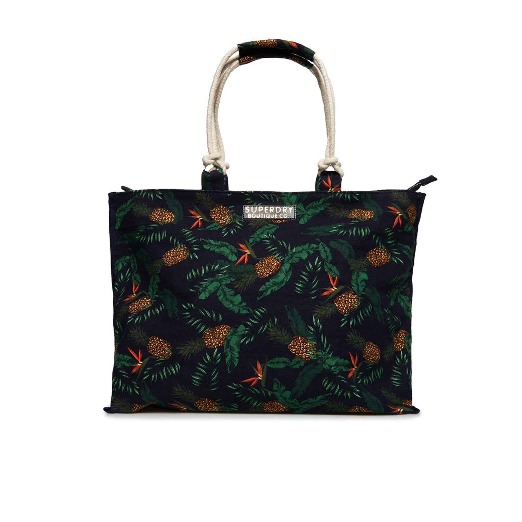 Details About Superdry Amaya Rope Tote Womens Bag Per Pinele Print One Size