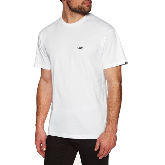 12dd584718 Vans. Vans Left Chest Logo Short Sleeve T-Shirt - White Black