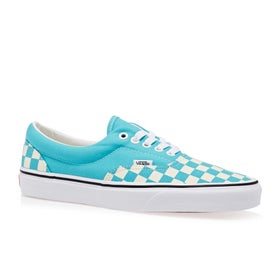 69f5004449 Vans. Vans Era Checkerboard Shoes - Scuba Blue ...