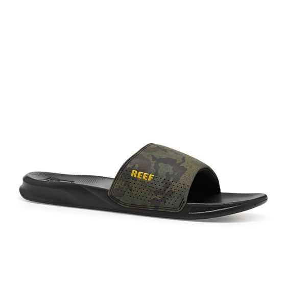 8632cb2d9647 Reef One Slide Sandals - Green Camo