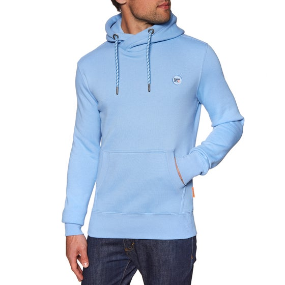 92b1b300f3f Jersey con capucha Superdry Collective - Wave Blue