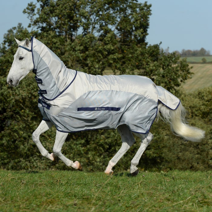 Bucas Buzz Off Rain Full Neck Fly Rug