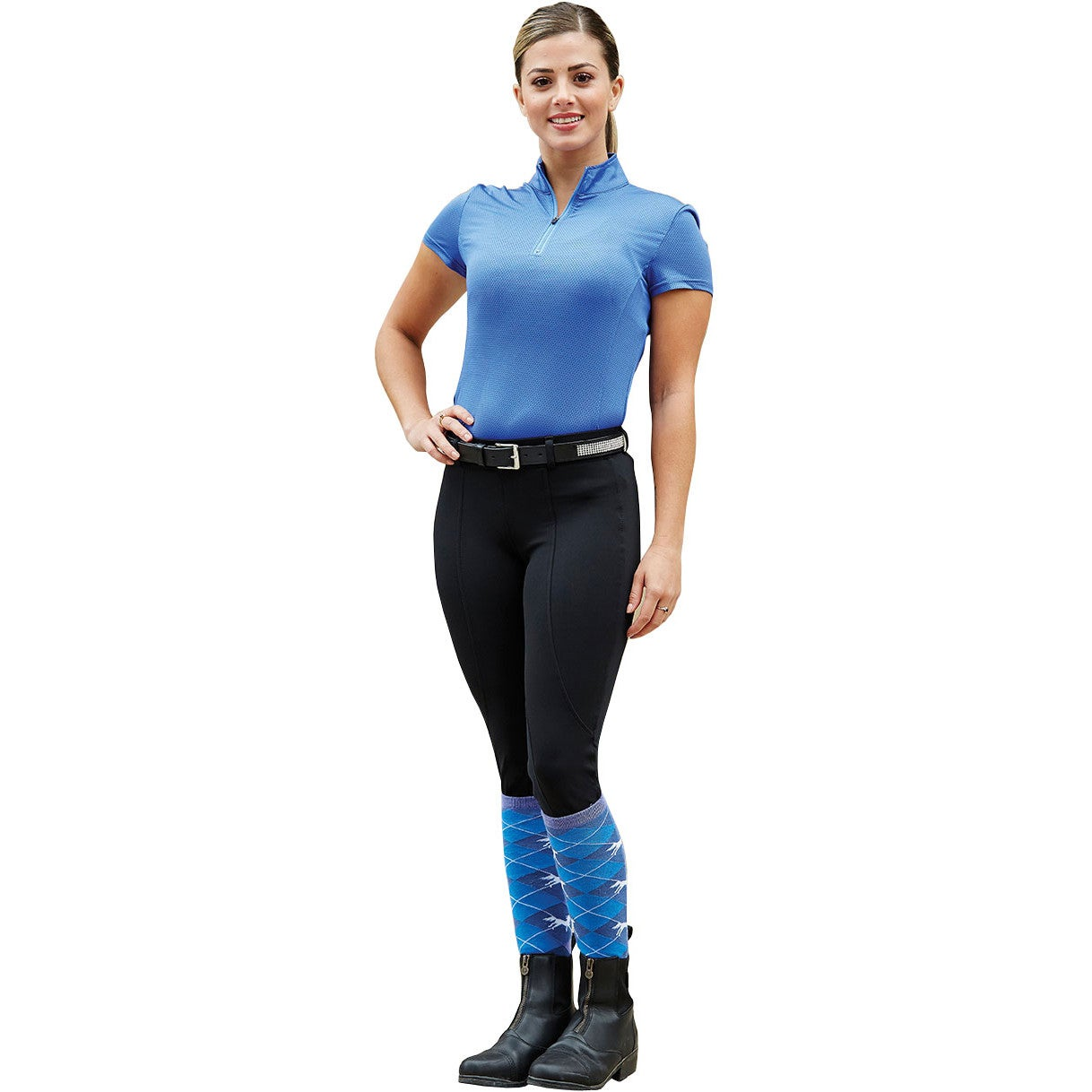 Dublin Performance Flex Knee Patch Ladies Riding Tights