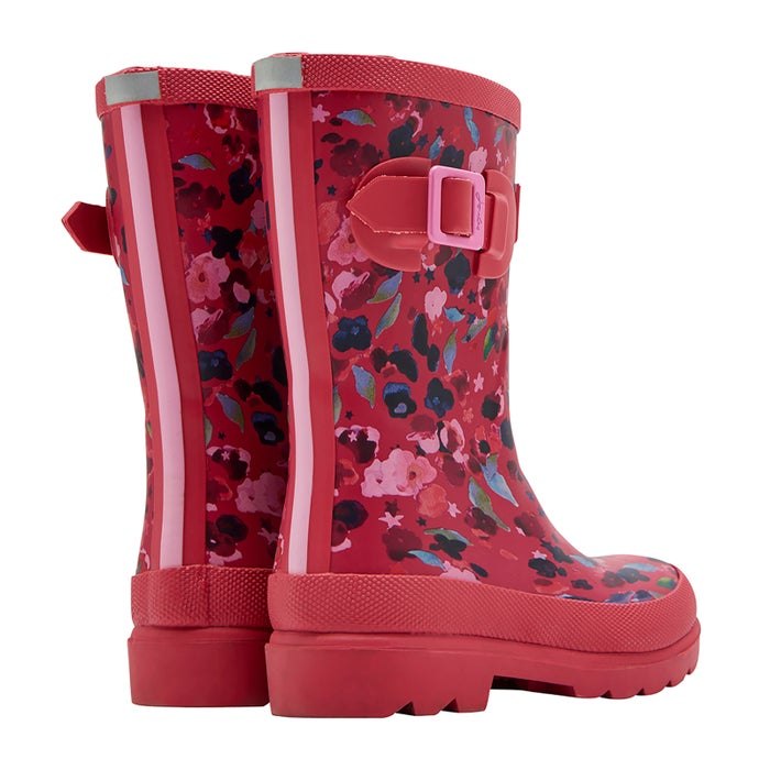Joules Printed Wellingtons