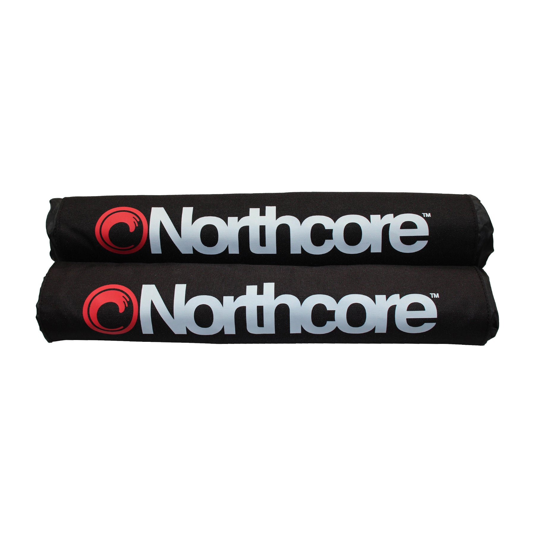 Northcore Roof Bar Pads Surfboard Rack - Black
