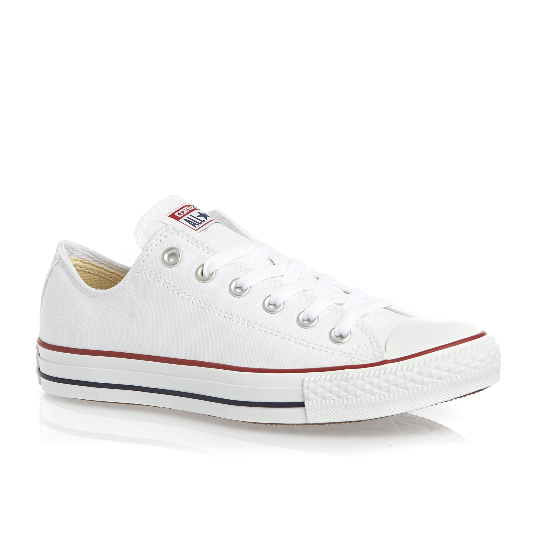 Converse Chuck Taylor All Stars OX Shoes - Optical White