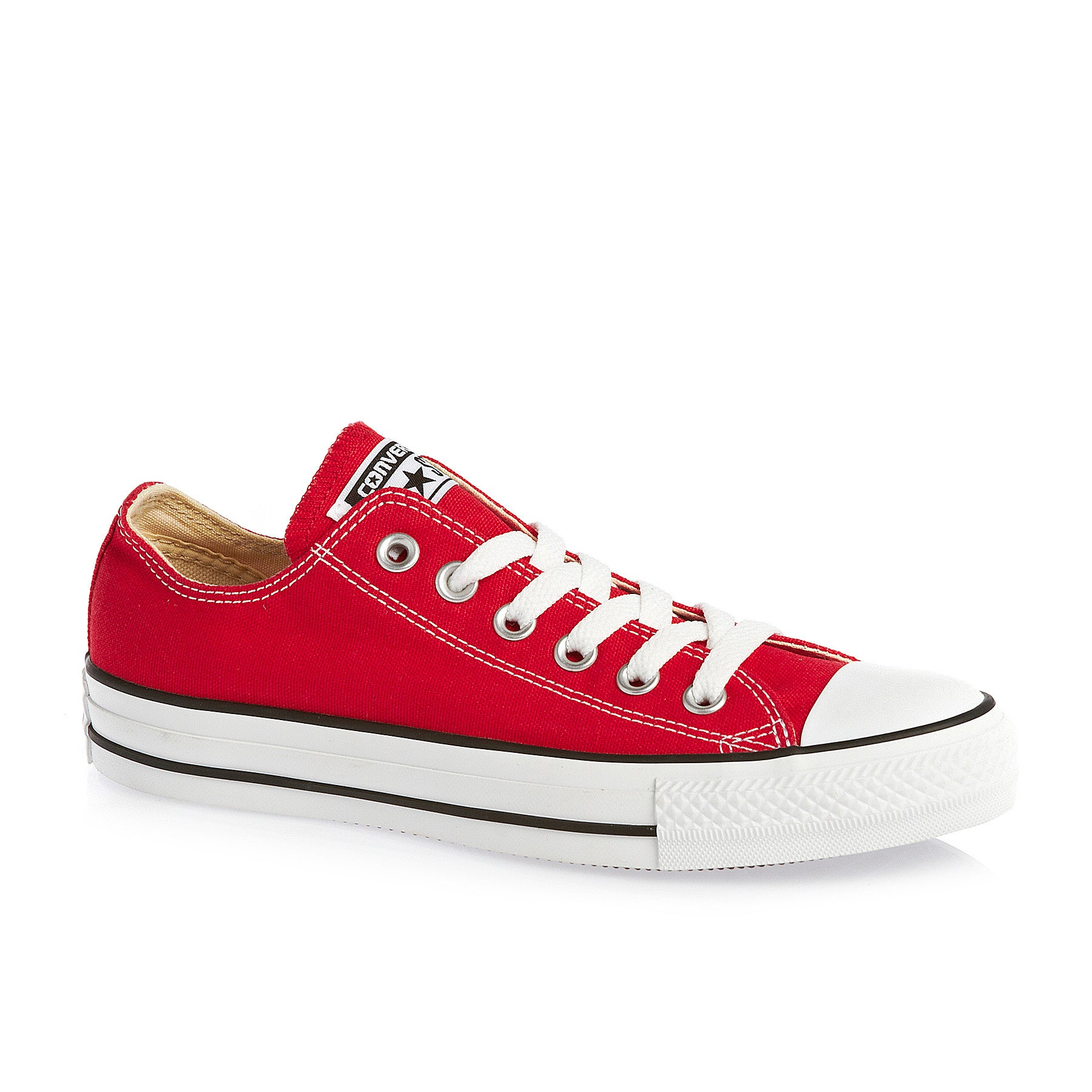 Converse Chuck Taylor All Stars OX Shoes - Red