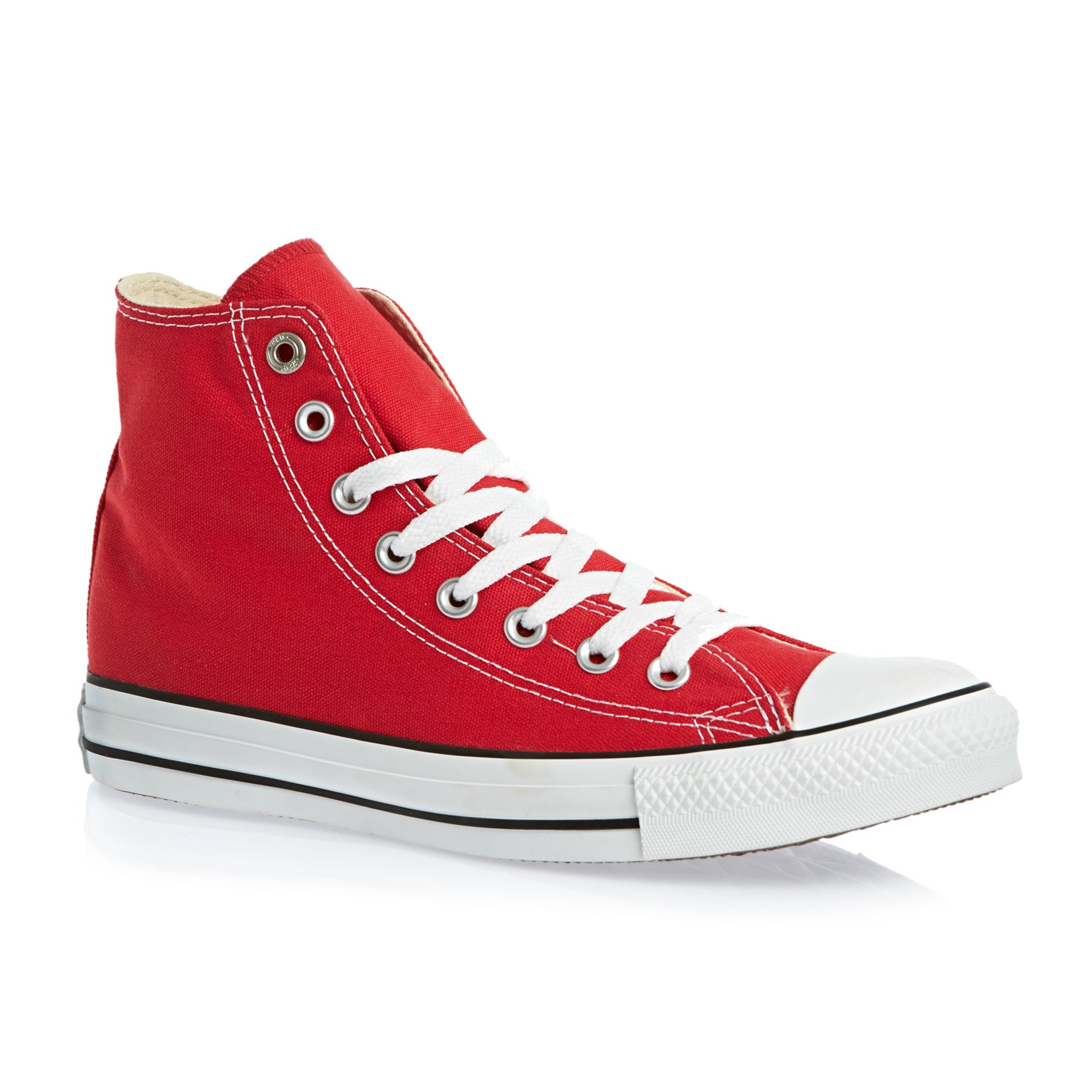 Converse Chuck Taylor All Stars Hi Shoes - Red