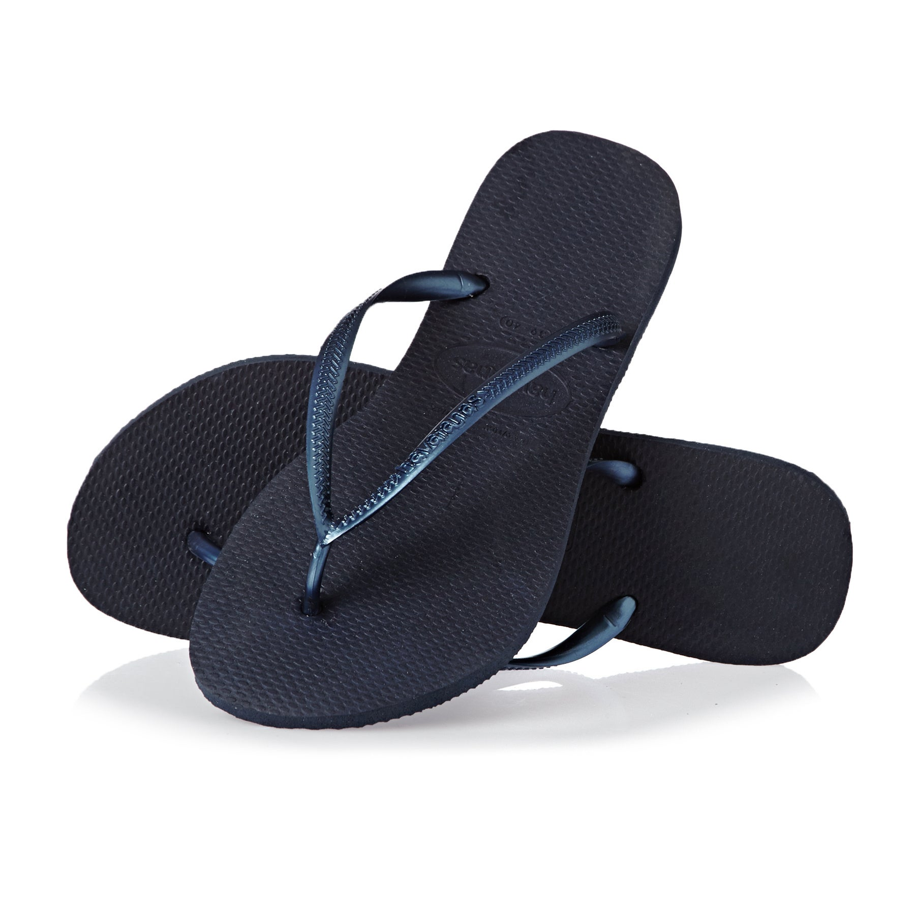 Havaianas Slim Womens Sandals - Navy Blue