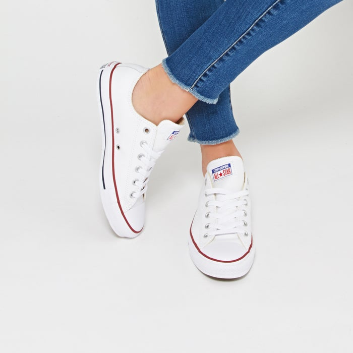 bafea6c953be5c Converse Chuck Taylor All Stars Ox Leather Shoes available from Surfdome