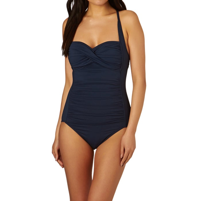 0dc75e50b08 Seafolly Twist Bandeau Swimsuit available from Surfdome