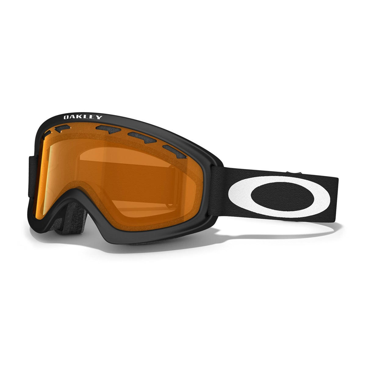 Oakley O2 XS Kids Snow Goggles - Matte Black ~ Persimmon