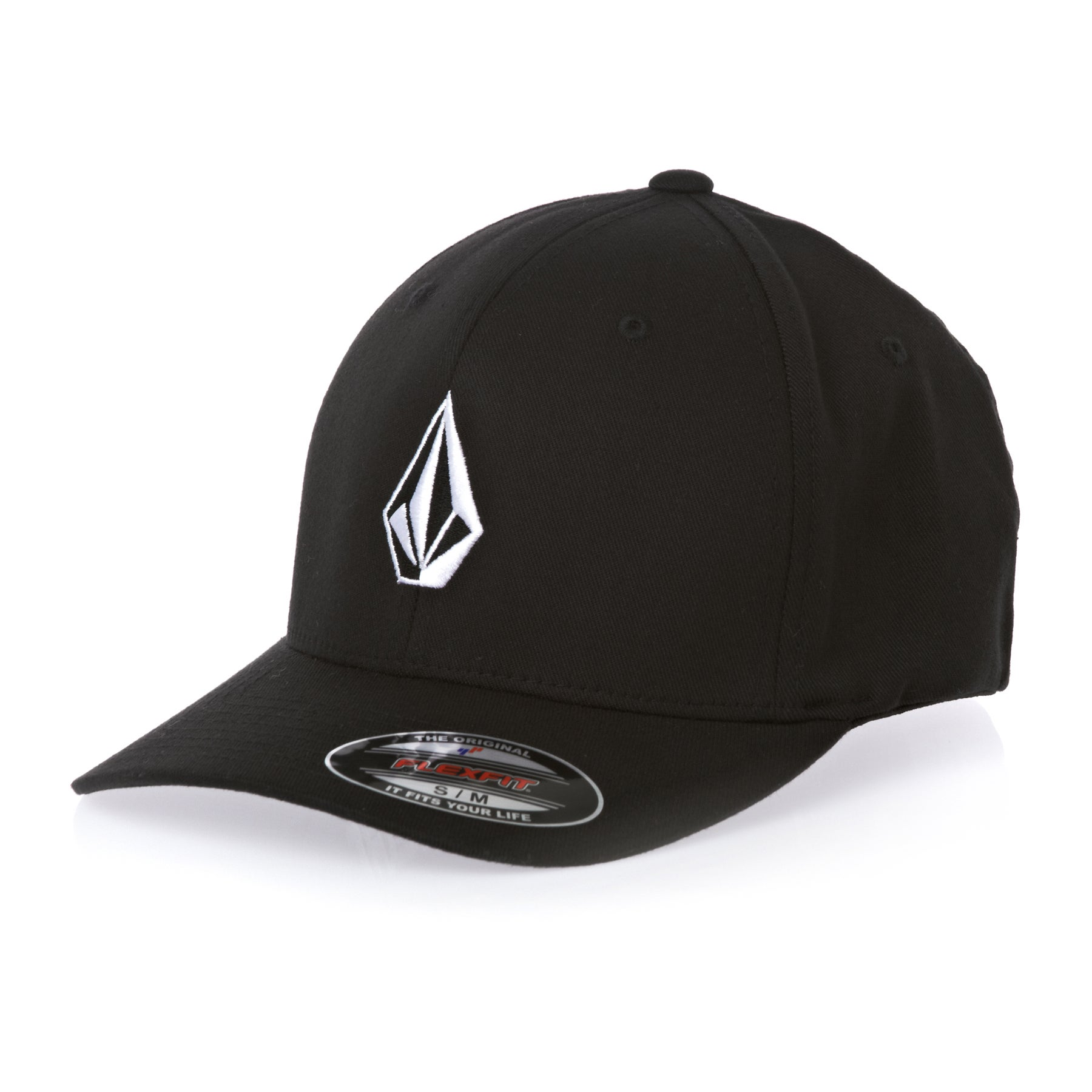 Volcom Full Stone 6277 Flexifit Cap - Black
