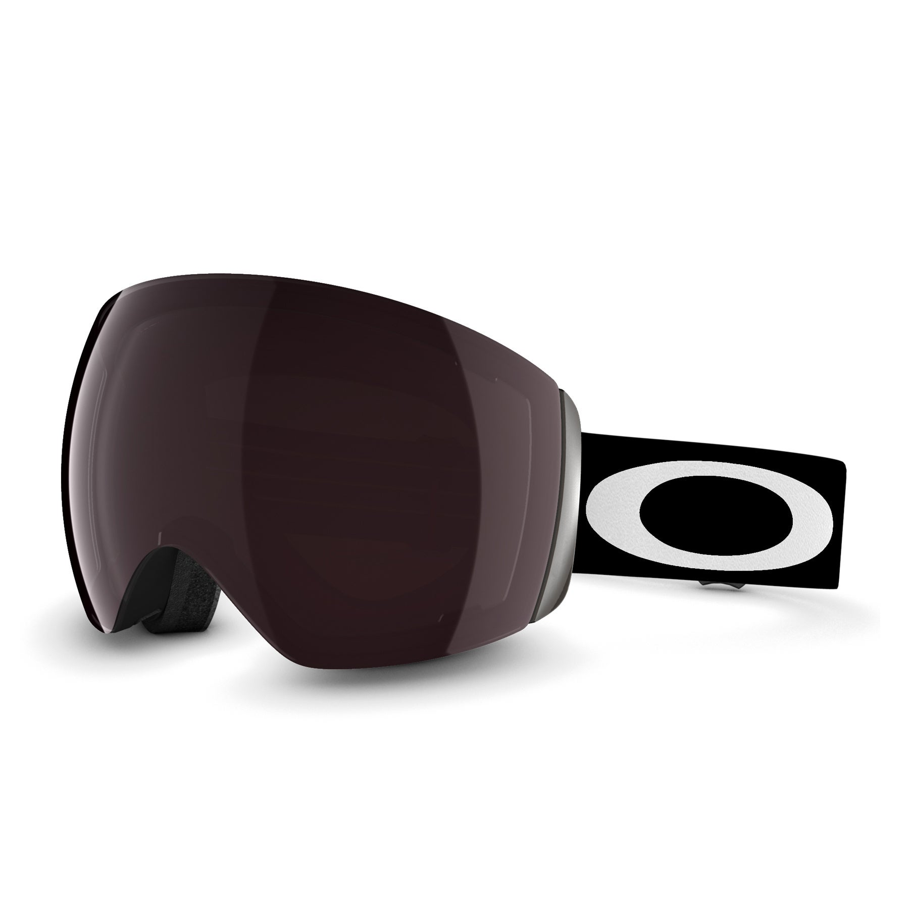 Oakley Flight Deck Snow Goggles - Matte Black ~ Prizm Black Iridium