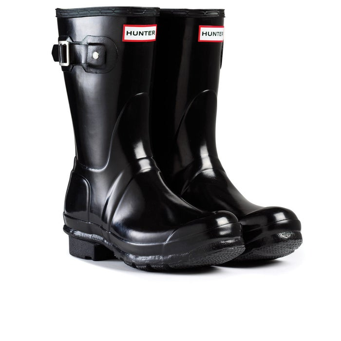 59bb485632 Hunter Original Short Gloss Womens Wellies - Free Delivery options ...