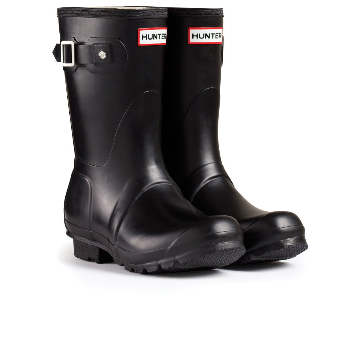 Hunter Original Short Womens Wellies - Black