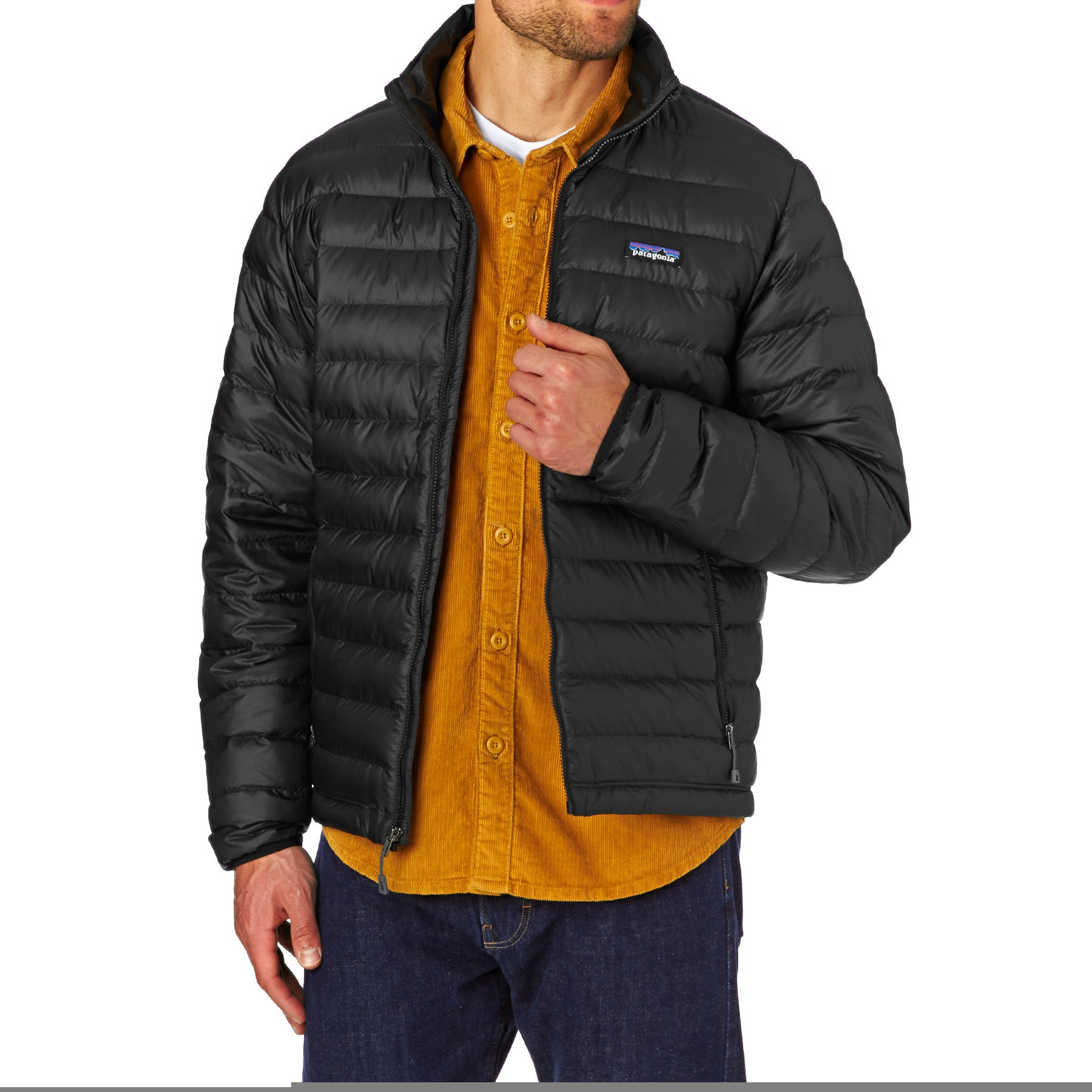 Patagonia Sweater Down Jacket - Black