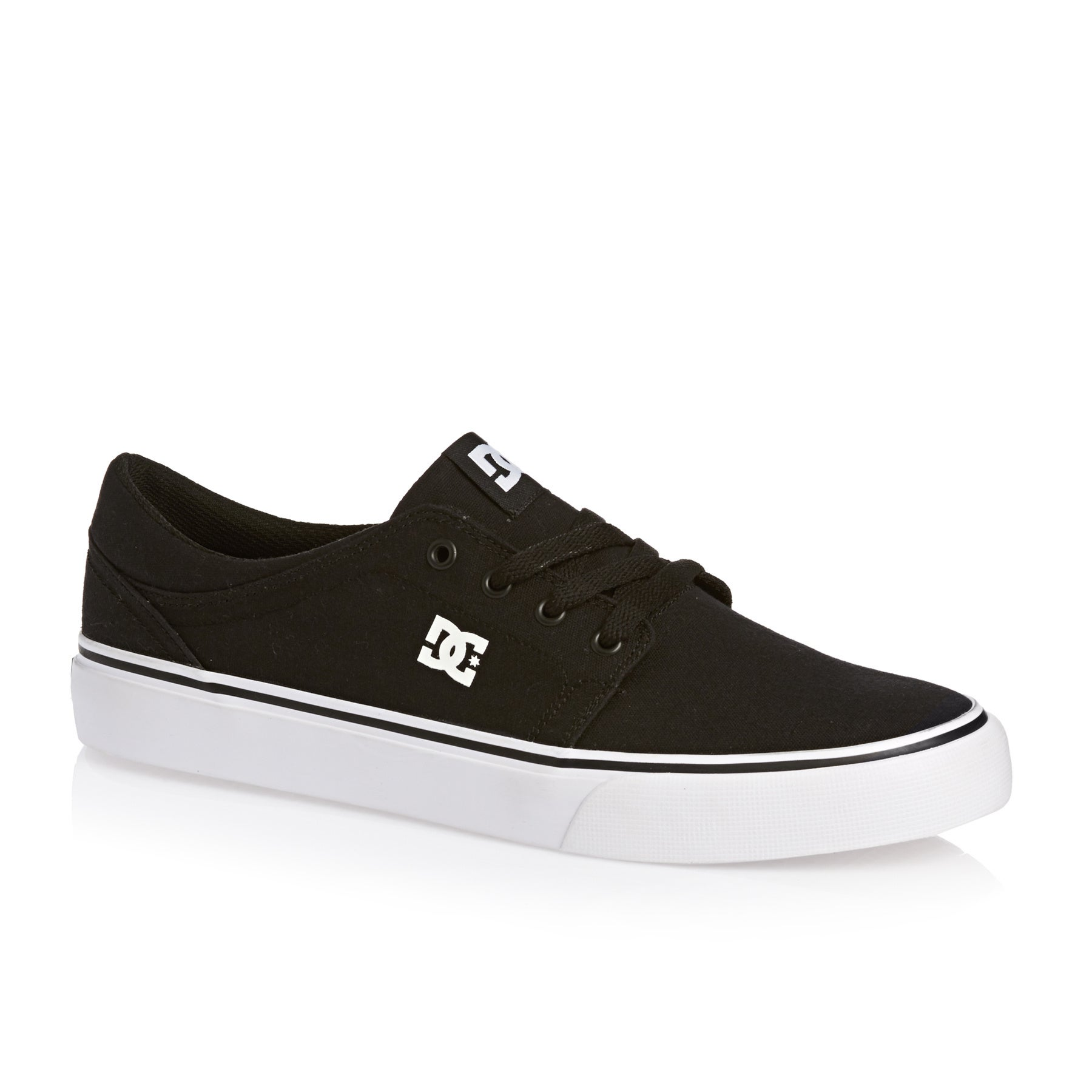DC Trase TX Shoes - Black White