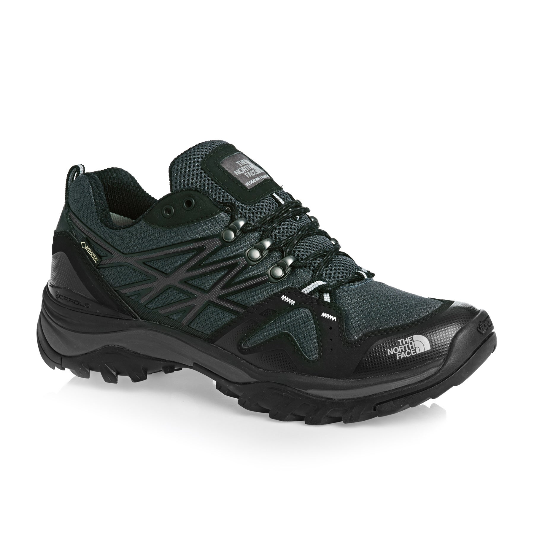 North Face Hedgehog Fastpack GTX Walking Shoes - TNF Black High Rise Grey