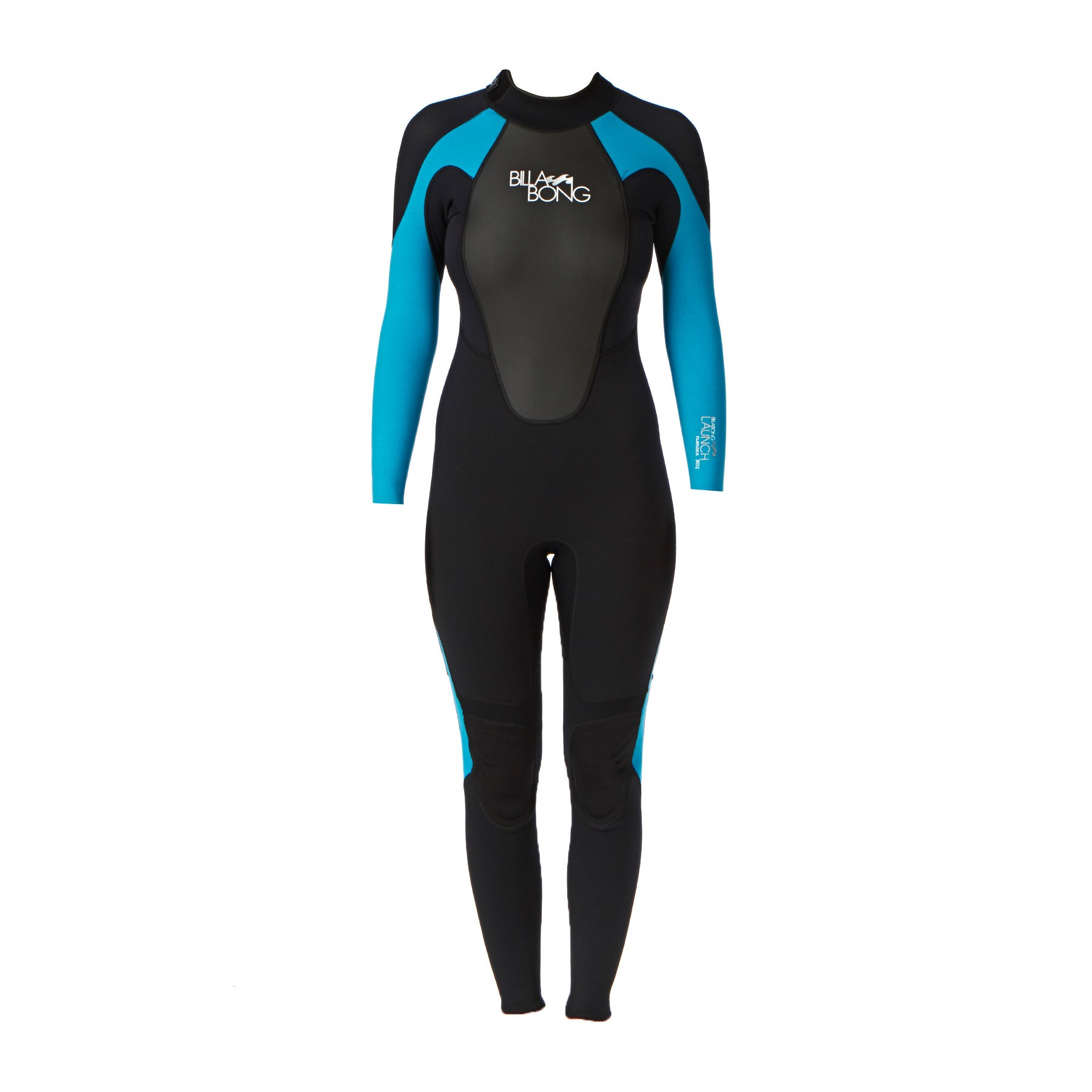 Billabong Launch 3/2mm Back Zip Womens Wetsuit - Turquoise