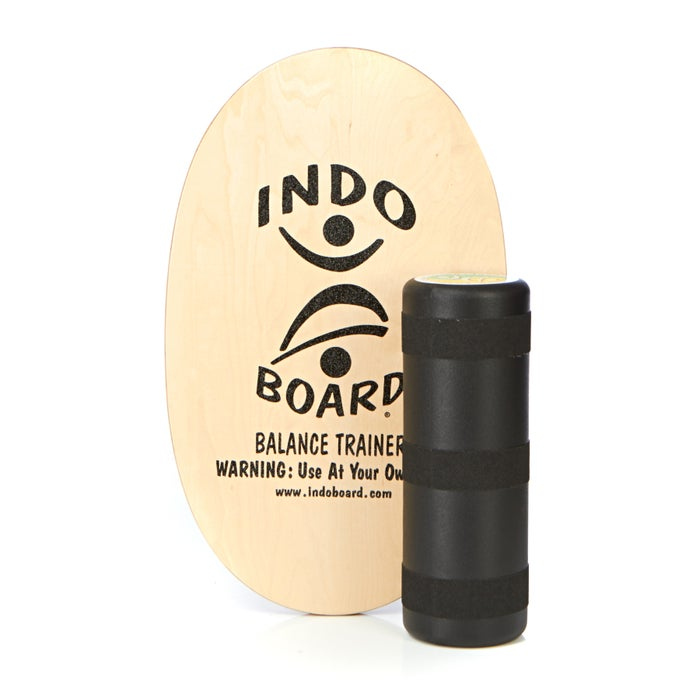 Balance Board Indo Boards Original Graphics Deck and Roller