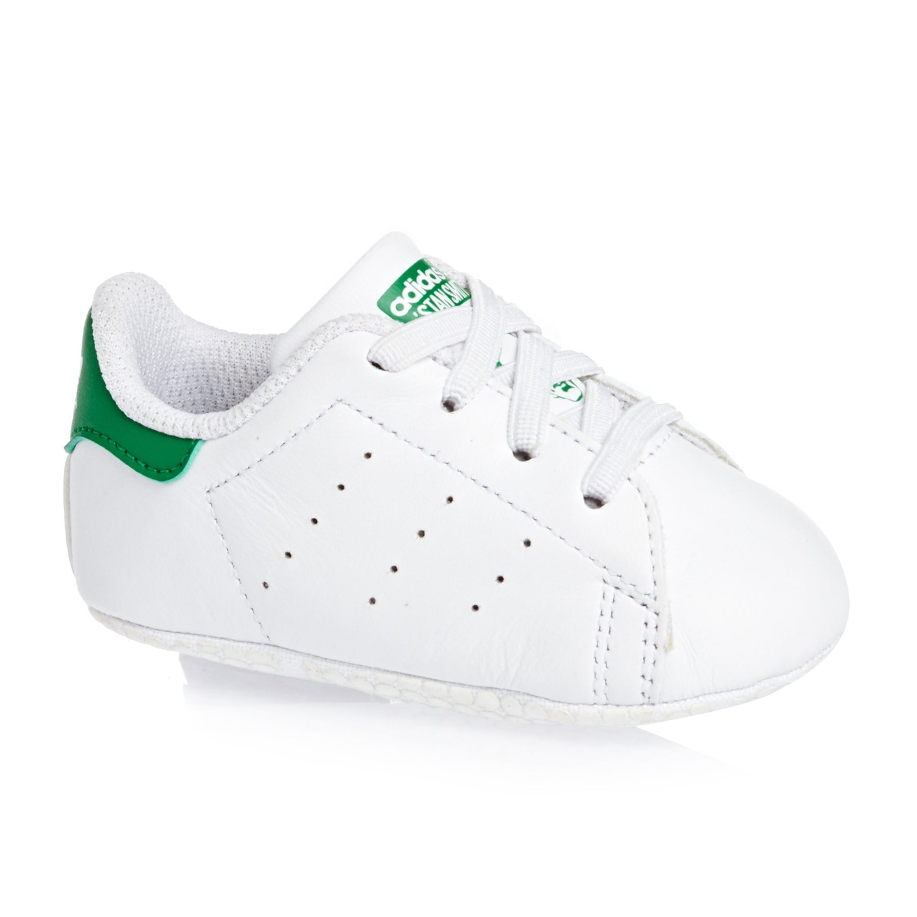 Adidas Originals Stan Smith Crib Shoes - White Green