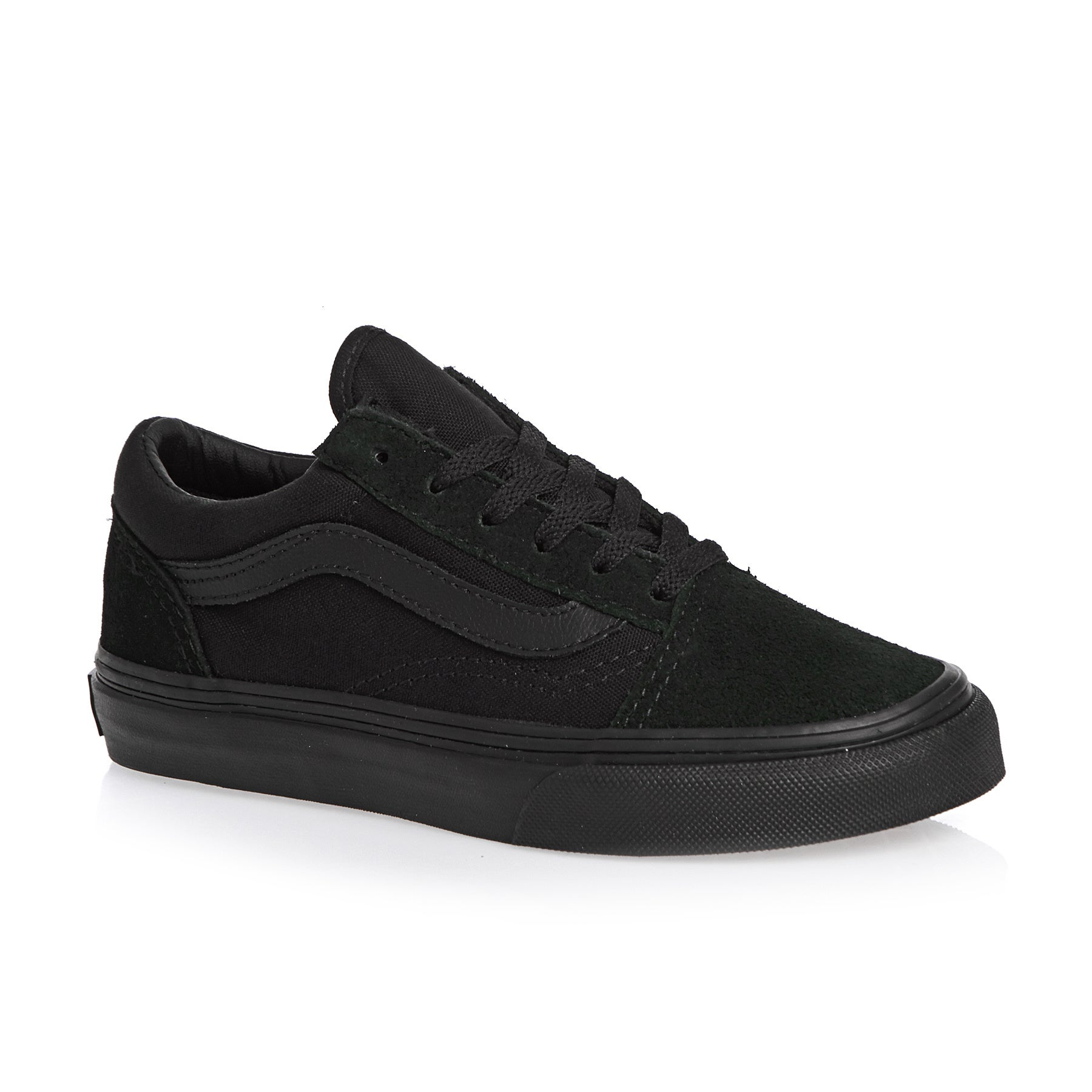Vans Old Skool Boys Shoes - Blk/Blk