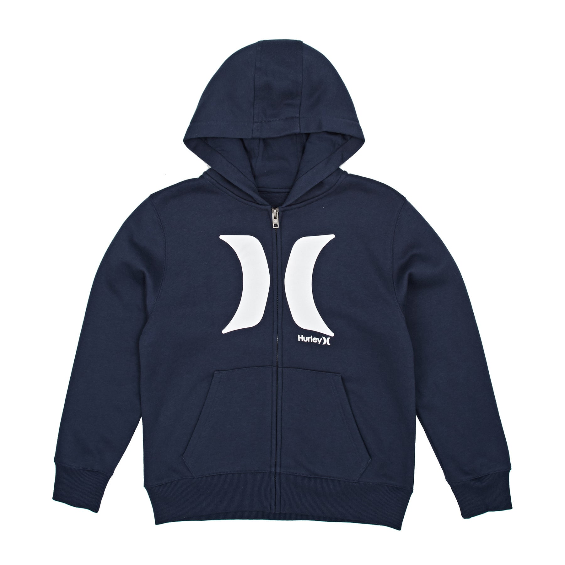 Hurley The Icon Boys Zip Hoody - Midnight Navy