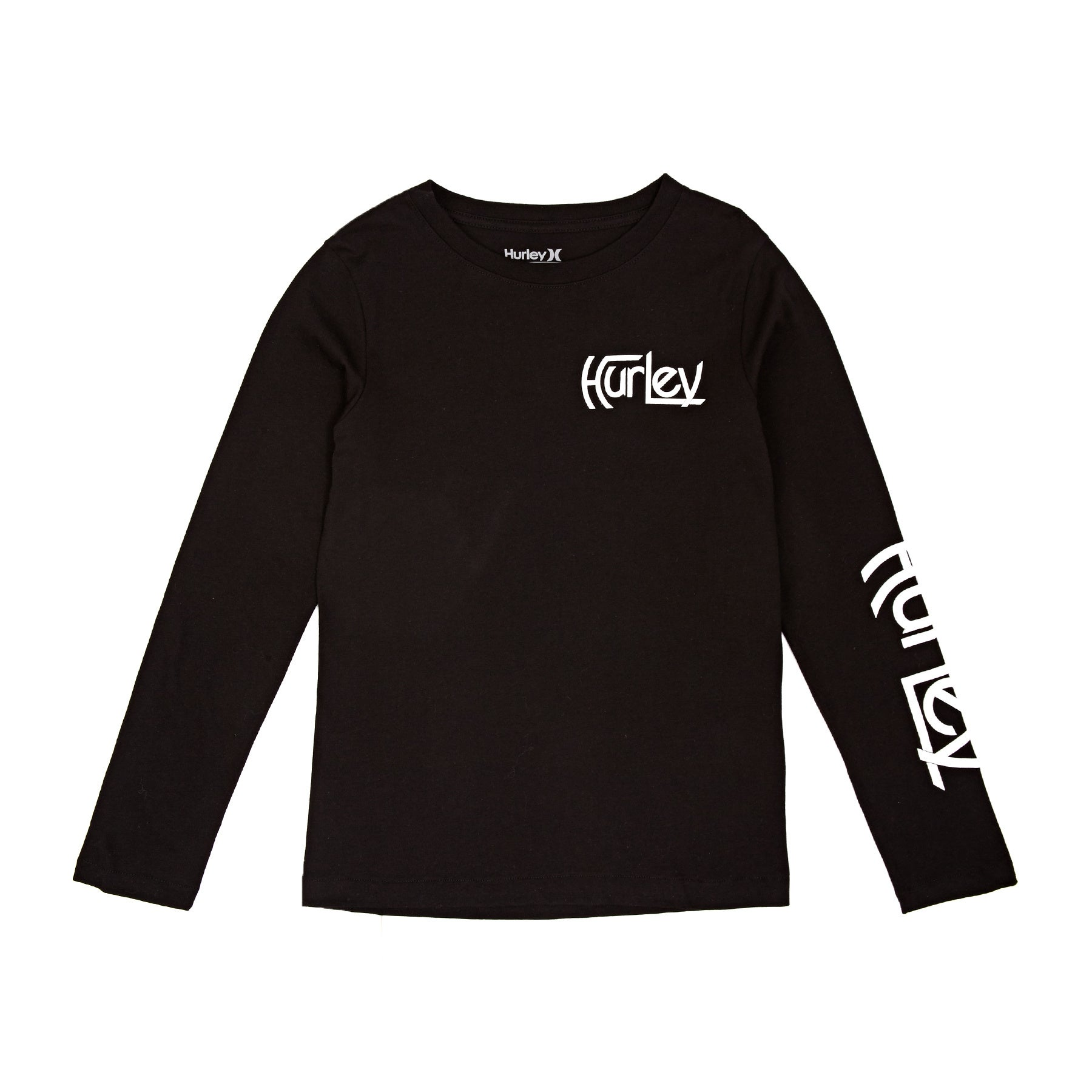 Hurley Original Vintage Boys Long Sleeve T-Shirt - Black