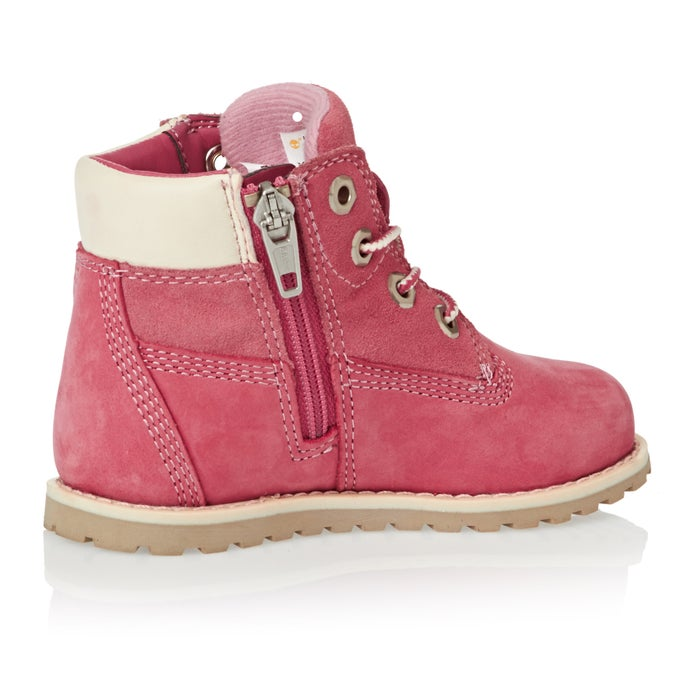 Timberland Pokey Pine 6in Side Zip Girls Boots