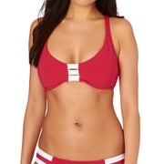 Seafolly Block Party D Cup Halter Womens Bikini Top