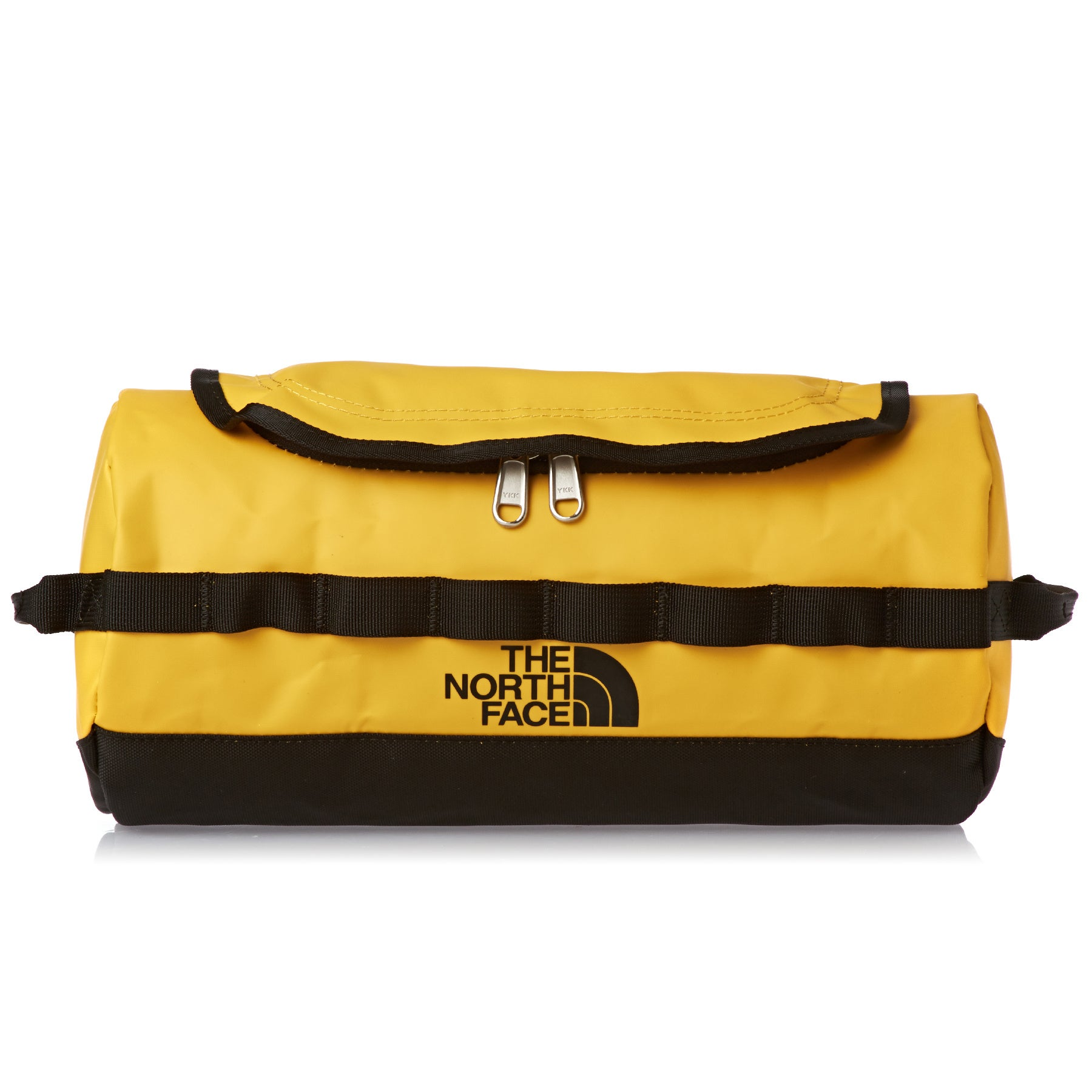 North Face Base Camp Travel Canister Large Wash Bag - Summit Gold TNF Black