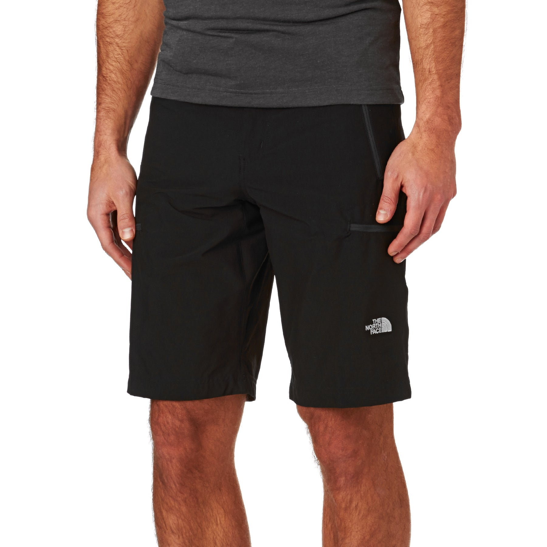 North Face Exploration Cargo Walk Shorts - Black