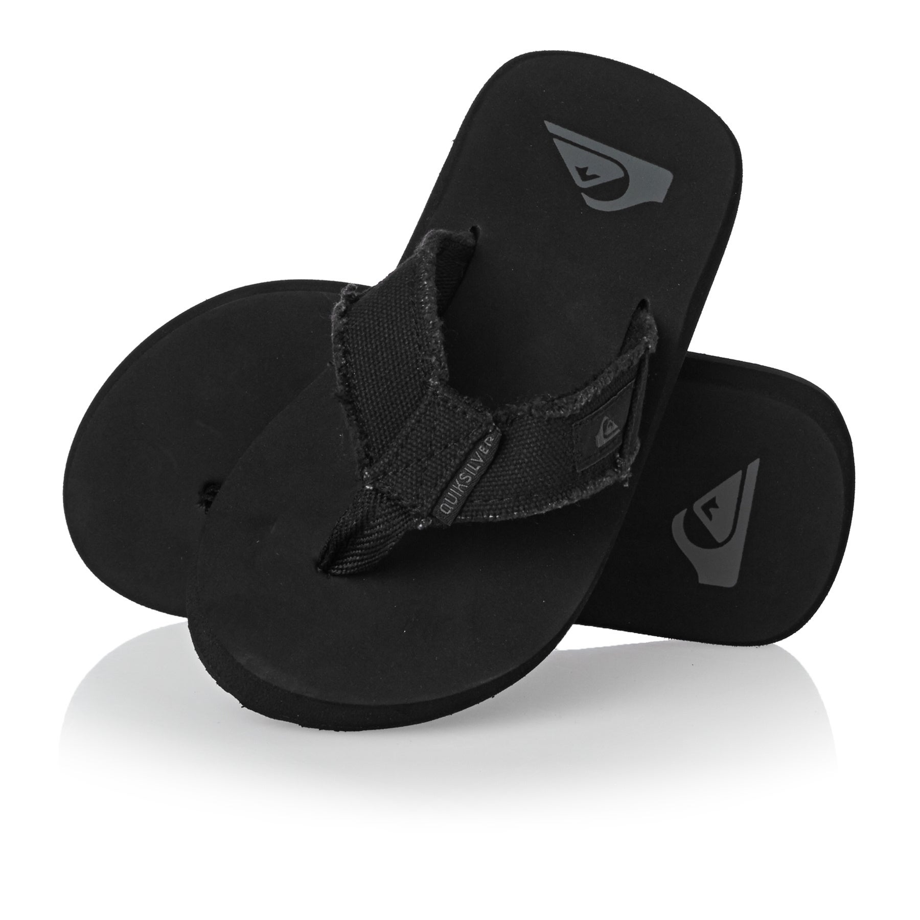Quiksilver Monkey Abyss Boys Sandals - Black/Brown