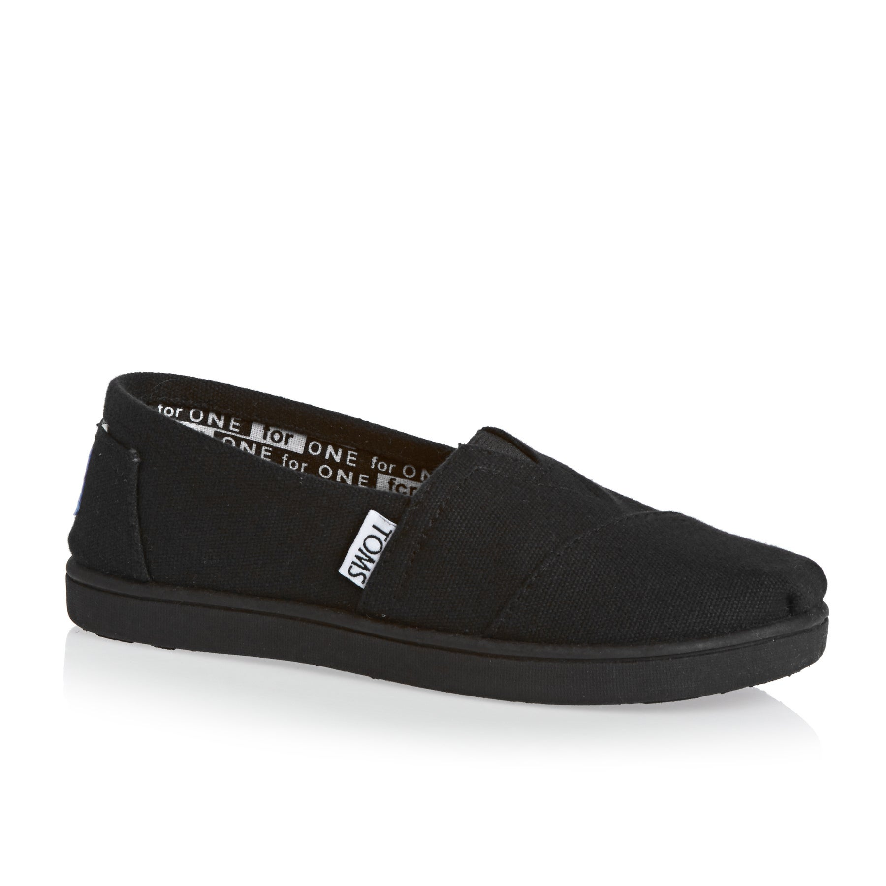 8c88f63a446 Toms Classic Alpargata Kids Slip On Shoes available from Surfdome
