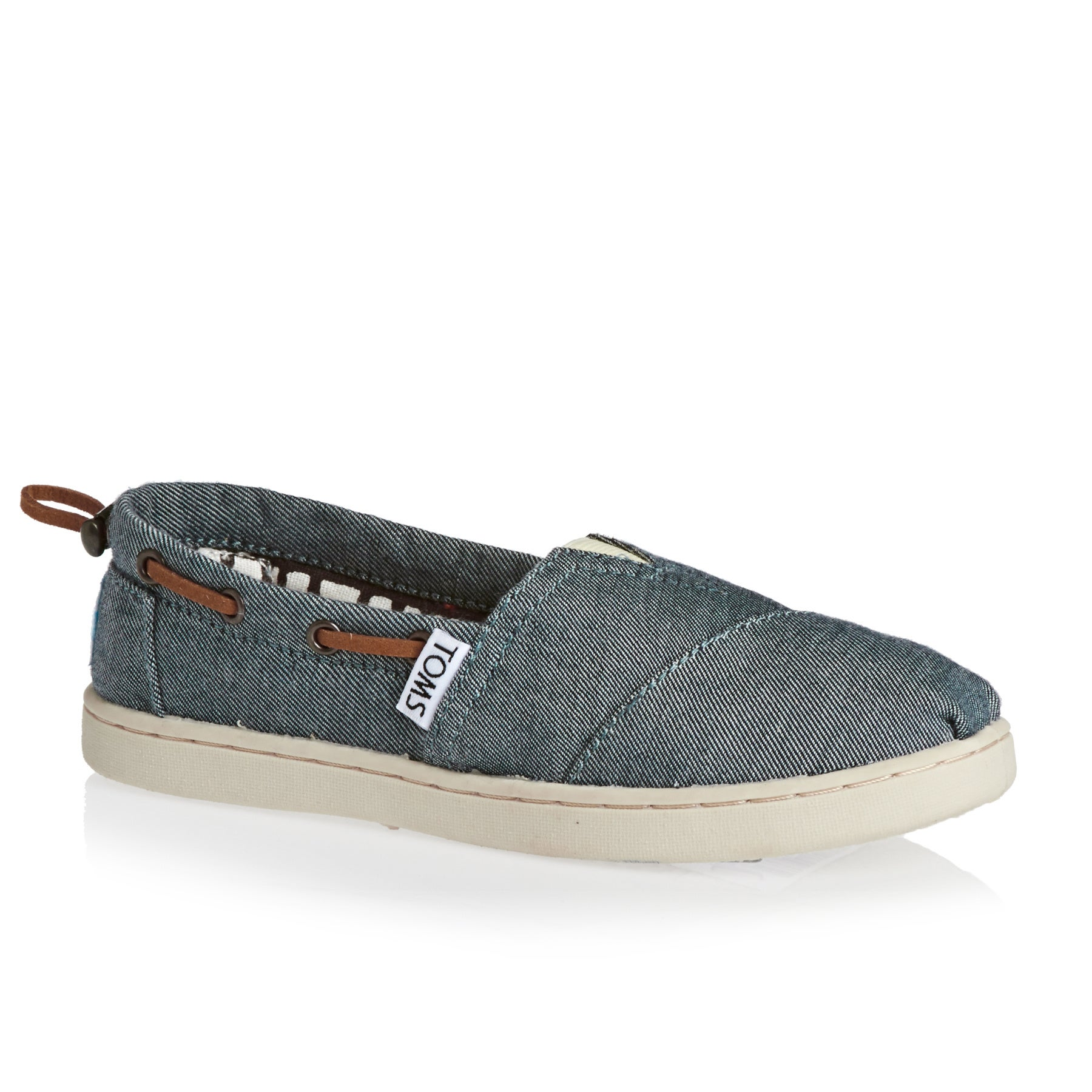 Toms Bimini Kids Dress Shoes - Chambray
