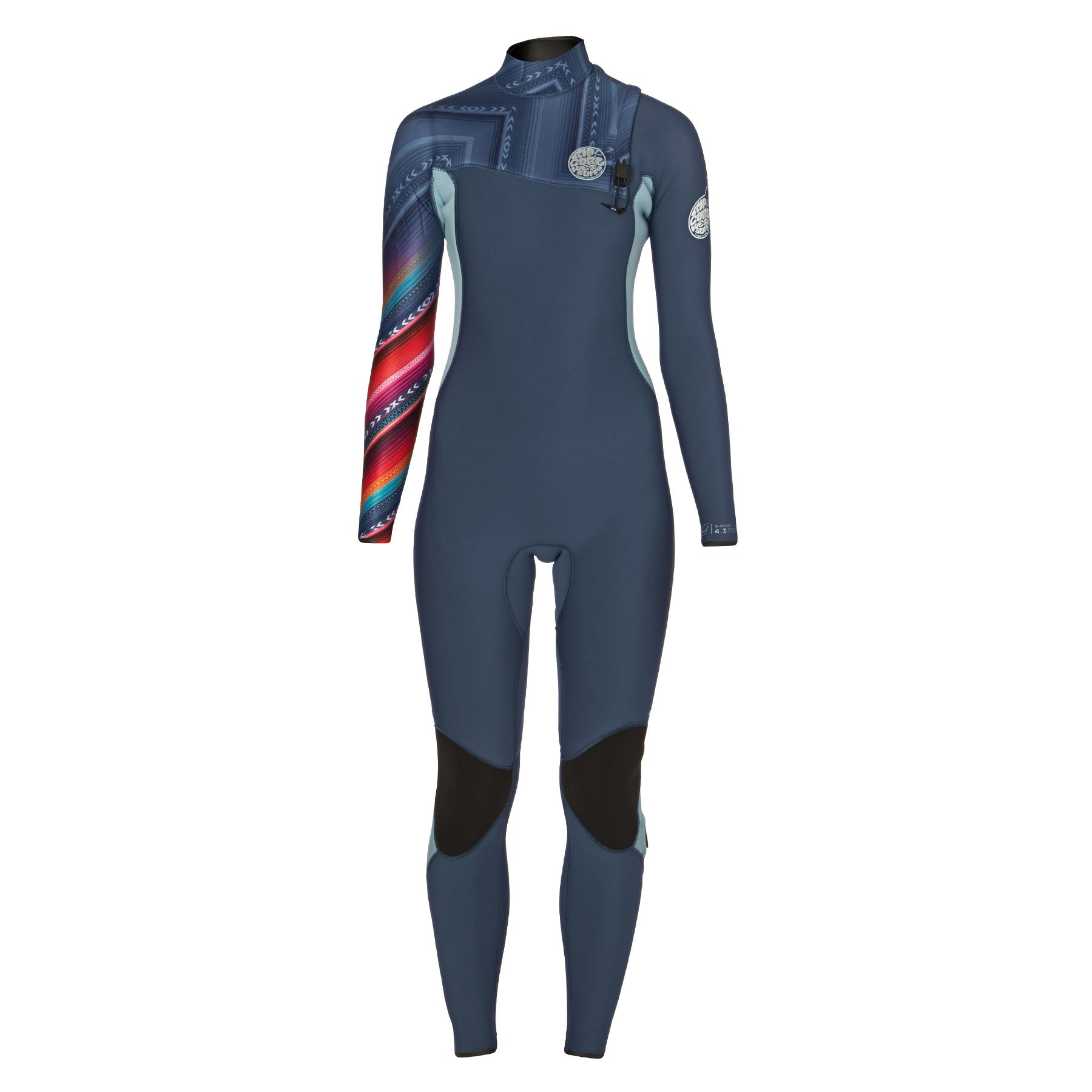 Rip Curl G Bomb 4/3mm 2017 Zipperless Womens Wetsuit - Blue