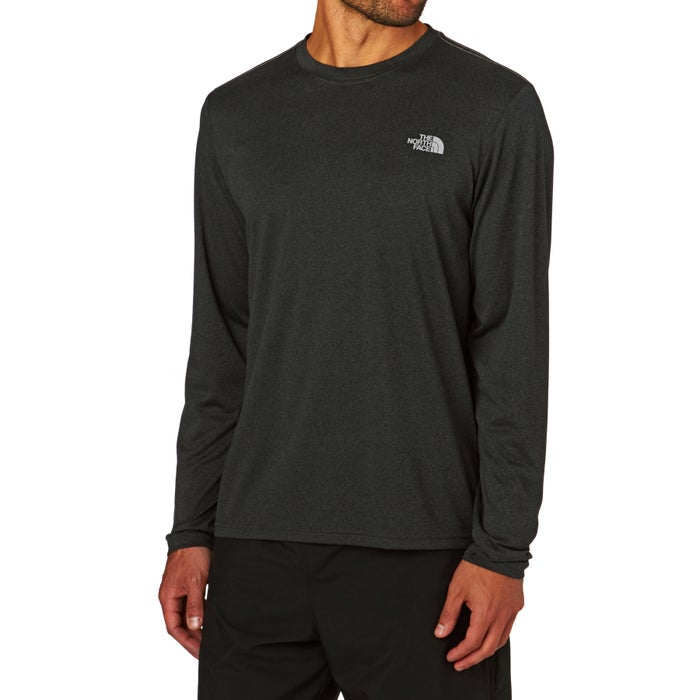 North Face Long Sleeve Reaxion Amp TShirt スポーツトップス