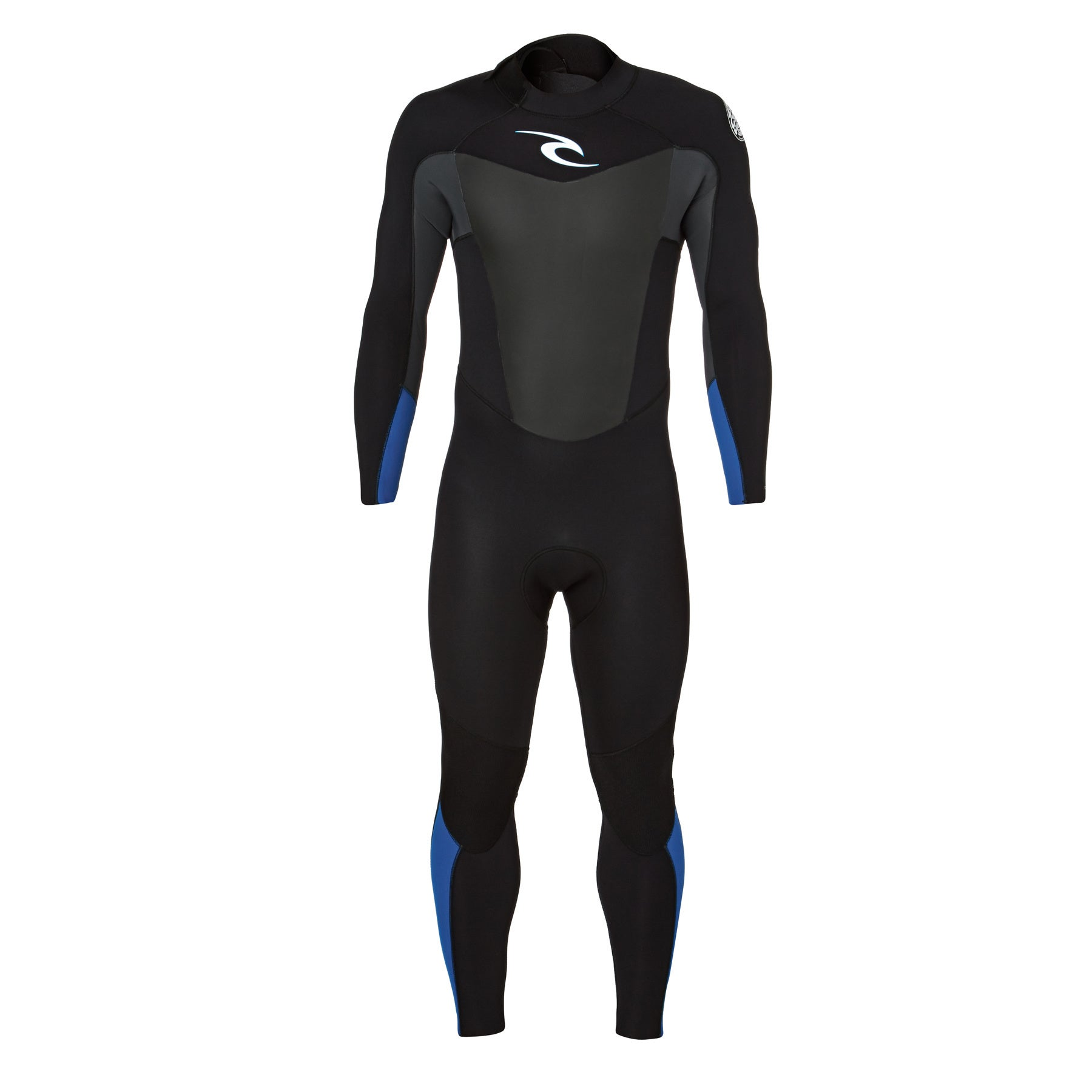 Rip Curl Omega 4/3mm 2017 Back Zip Wetsuit - Blue