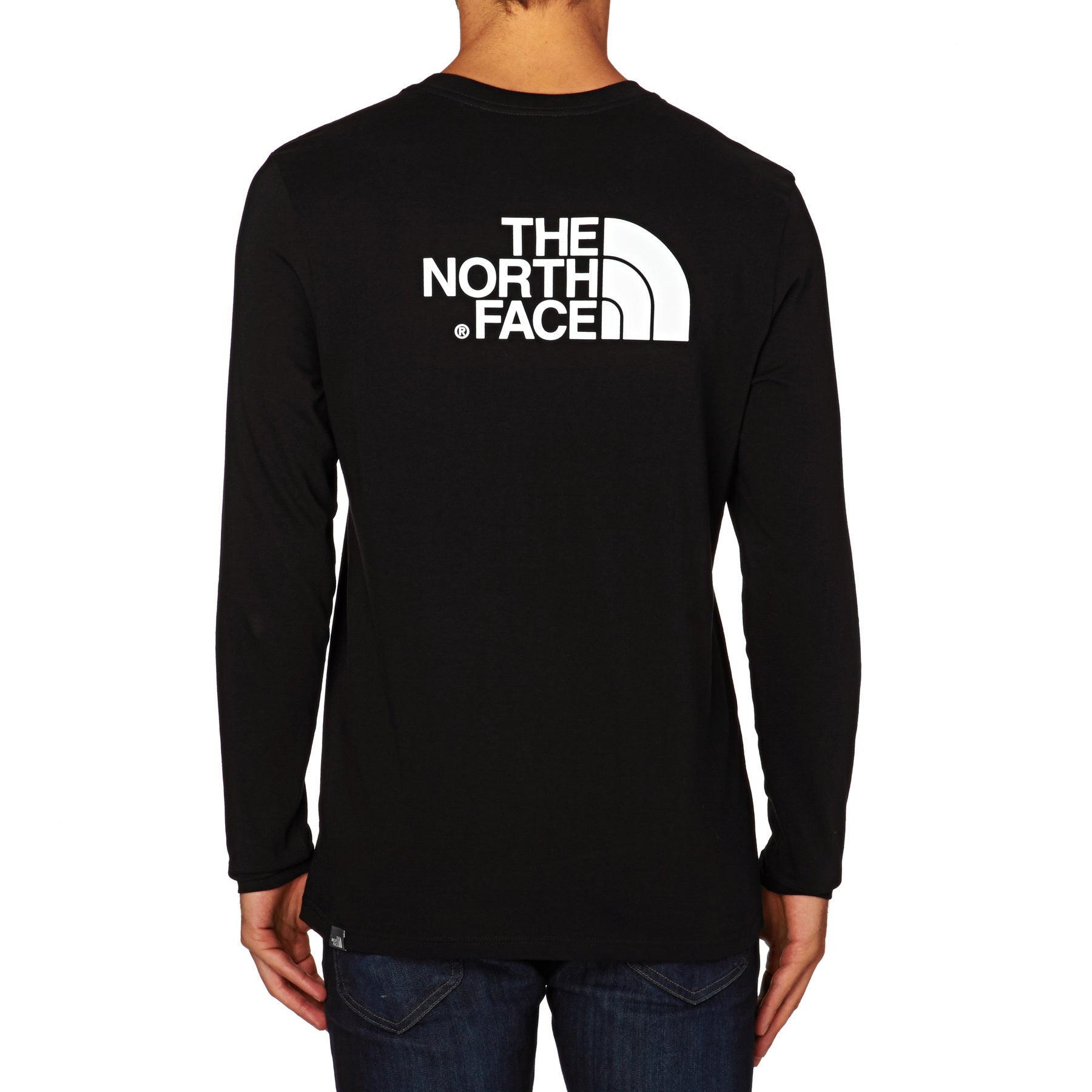 North Face Easy Long Sleeve T-Shirt - TNF Black