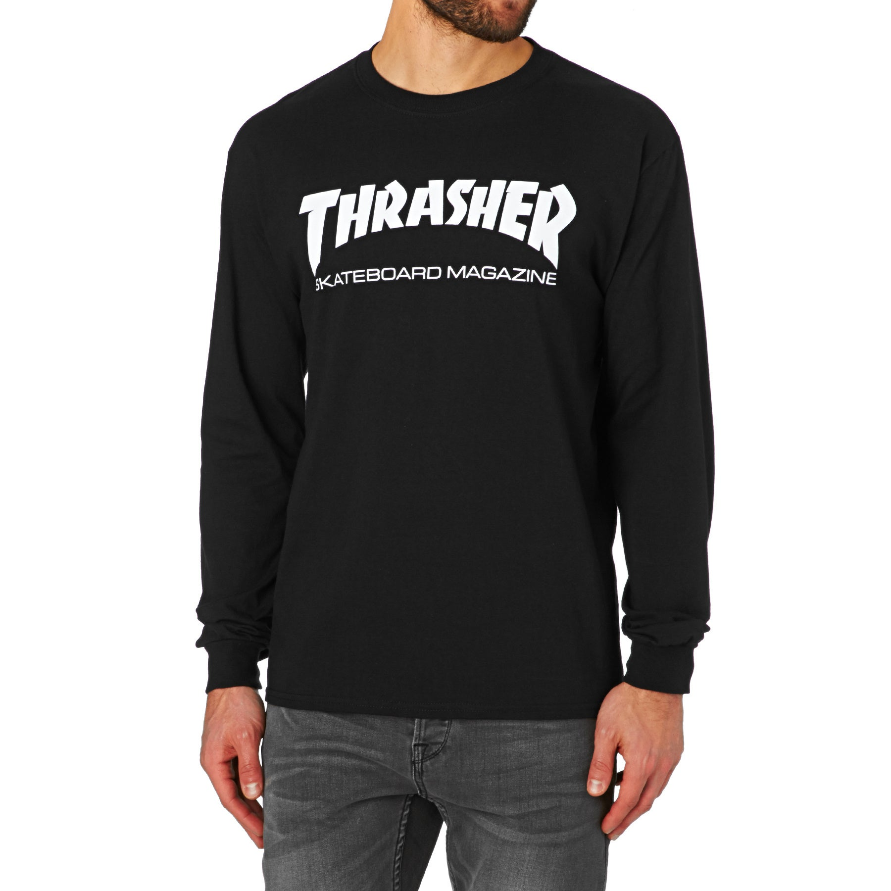 96f89e00 Thrasher Skate Mag Long Sleeve T-Shirt available from Surfdome