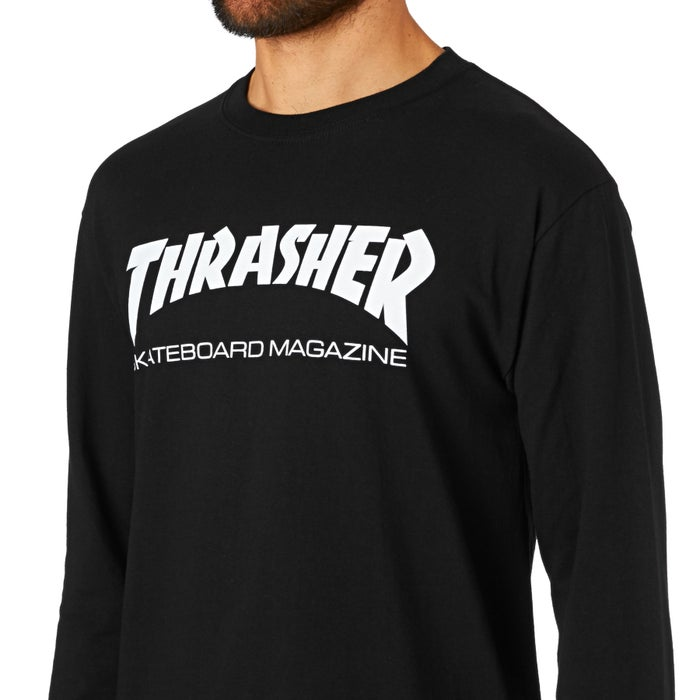 52adb405518 Thrasher Skate Mag Long Sleeve T-Shirt available from Surfdome
