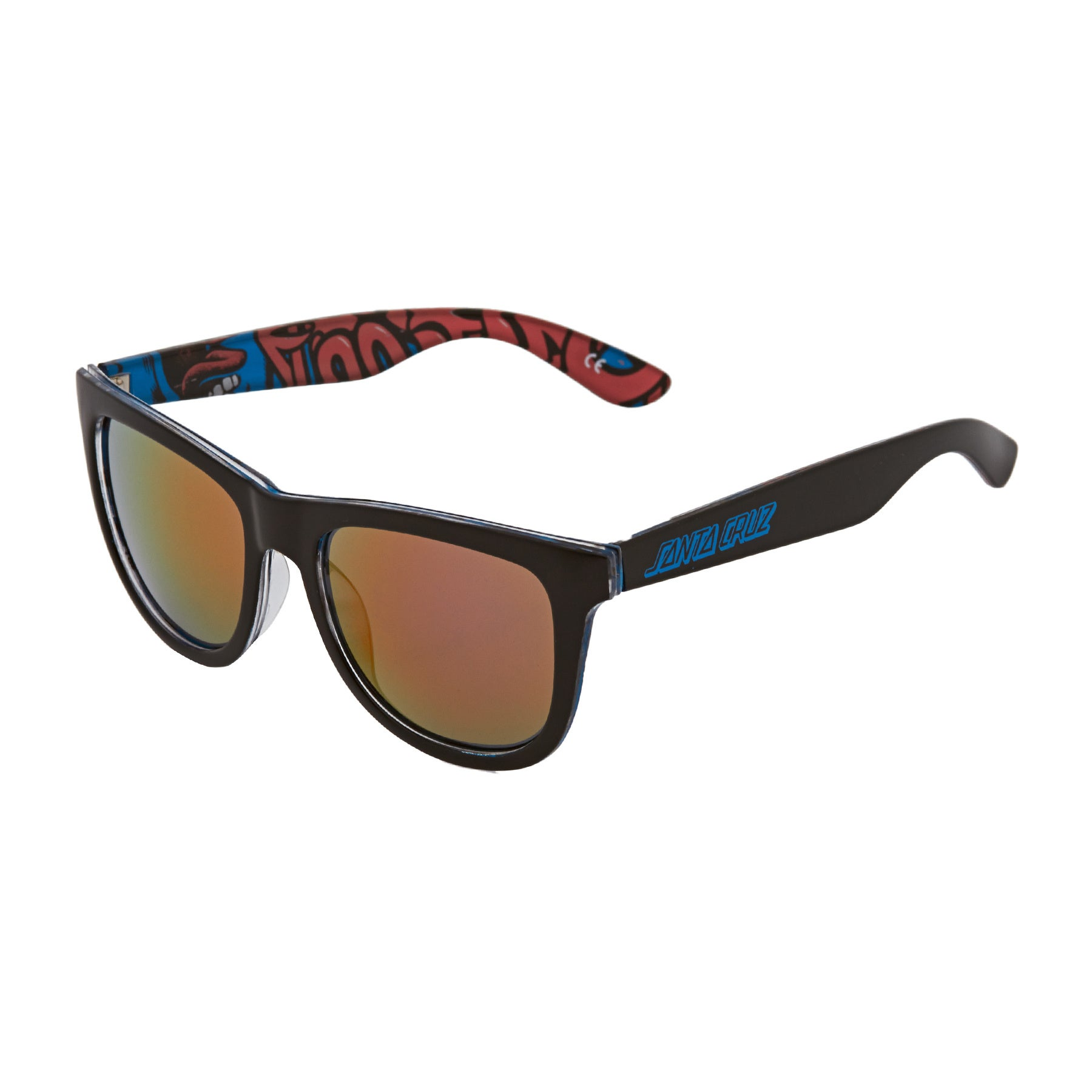 Occhiali da Sole Santa Cruz Screaming Insider - Black Blue