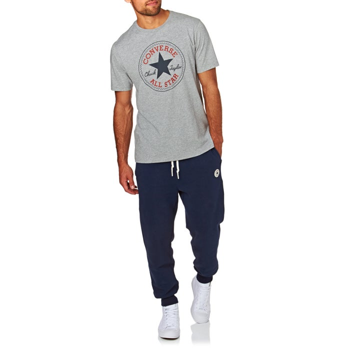 986f6b3e3f4e Converse Core Chuck Patch Short Sleeve T-Shirt available from Surfdome