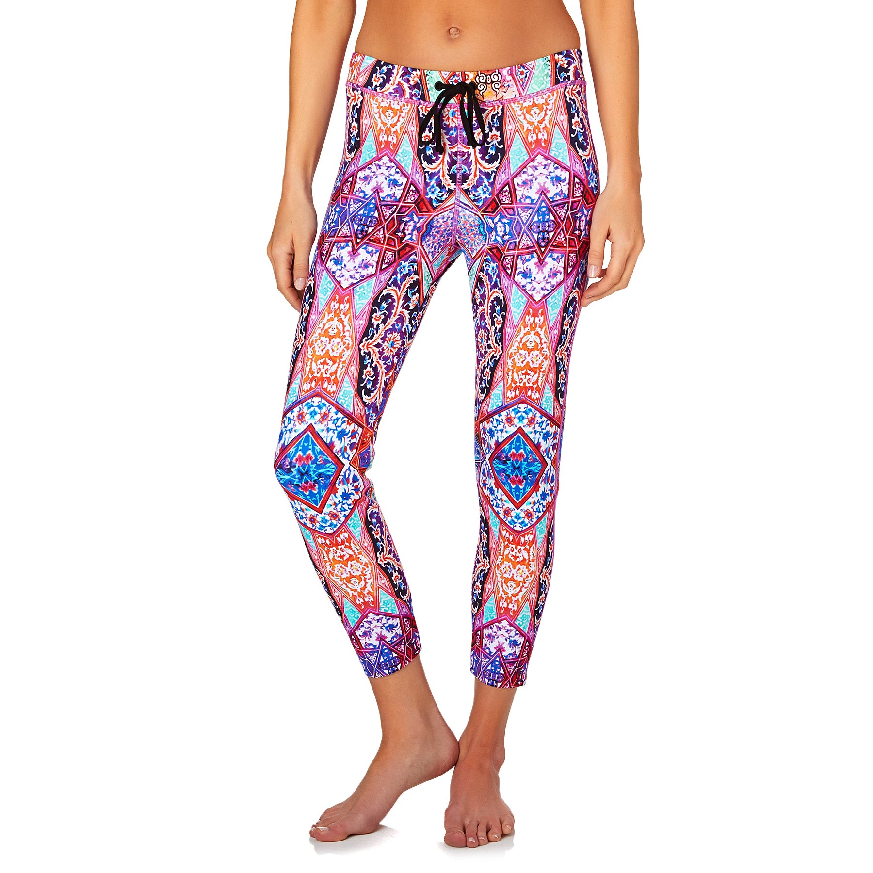 Seafolly Kashmir Scuba Womens Leggings - Wildorchid